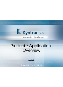 Kyntronics Product Overview