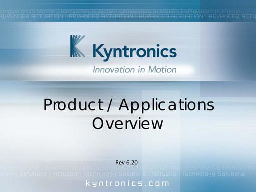 SMART Hydraulic Actuator Presentation
