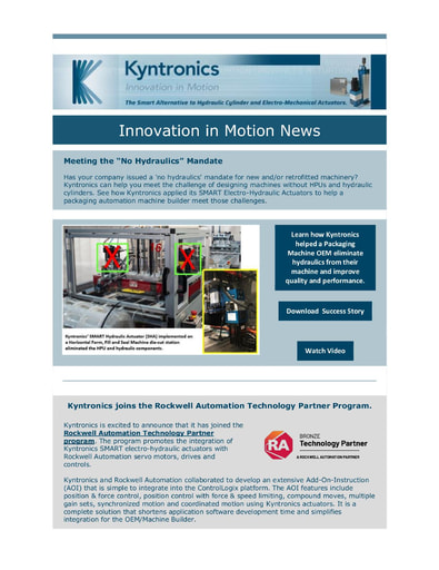 Innovation in Motion Newsletter July 2021