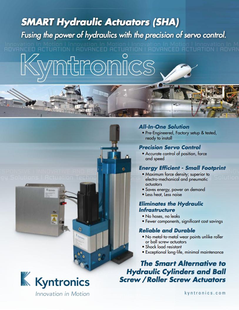 Kyntronics SHA Brochure